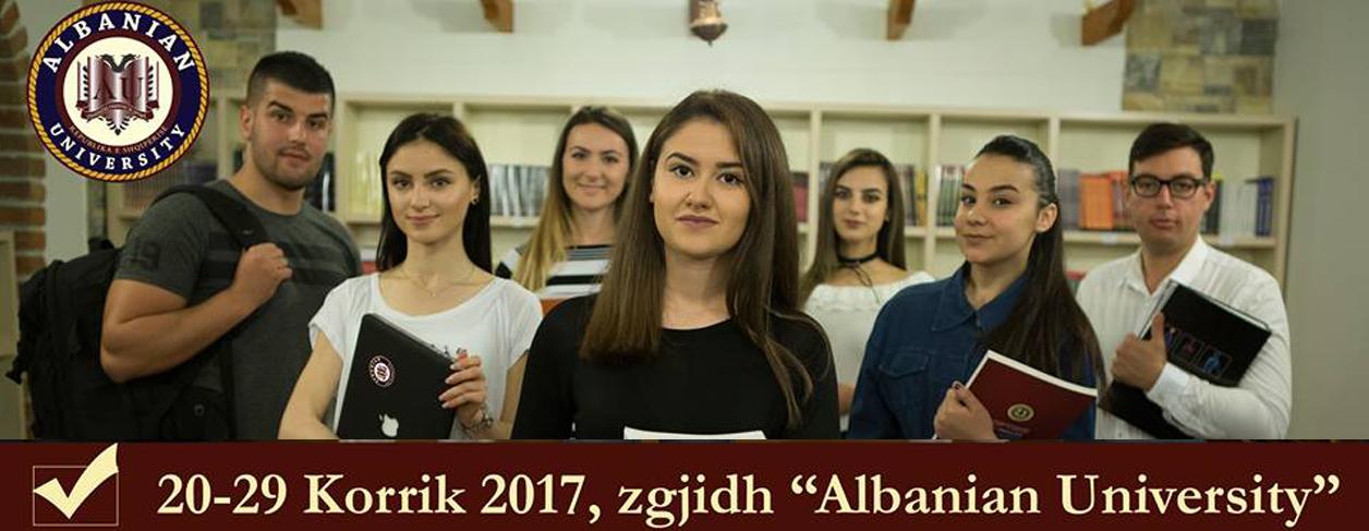 "20-29 July, choose ""Albanian University"""