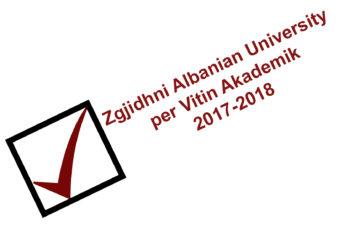 Zgjidhni Albanian University