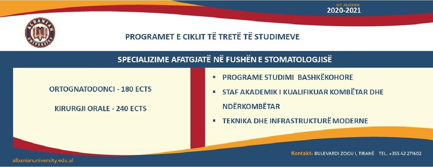 Programet e Ciklit të tretë të studimeve